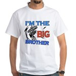 Cool Dirt Biking big brother design White T-Shirt