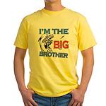 Cool Dirt Biking big brother design Yellow T-Shirt