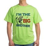 Cool Dirt Biking big brother design Green T-Shirt