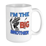Cool Dirt Biking big brother design Large Mug