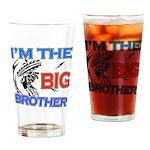 Cool Dirt Biking big brother design Drinking Glass
