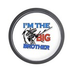 Cool Dirt Biking big brother design Wall Clock