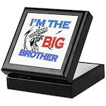 Cool Dirt Biking big brother design Keepsake Box