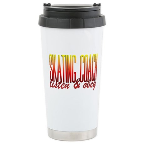 Coach design 3 Stainless Steel Travel Mug