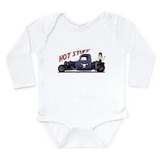 Hot Rod Truck Long Sleeve Infant Bodysuit