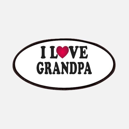 I Love Grandpa Patches