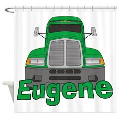 Trucker Eugene Shower Curtain
