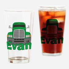 Trucker Evan Drinking Glass