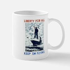 Liberty For All WPA Poster Mug