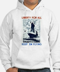 Liberty For All WPA Poster Hoodie