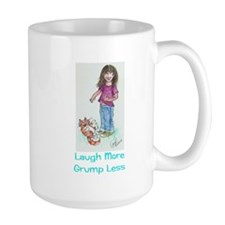 Laugh More Grump Less Mug