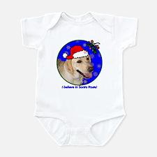 SANTA PAWS Lab Infant Bodysuit