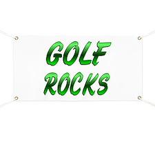 Golf ROCKS Banner