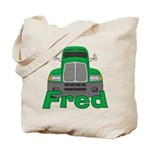 Trucker Fred Tote Bag