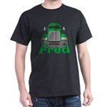 Trucker Fred Dark T-Shirt