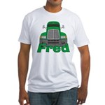 Trucker Fred Fitted T-Shirt