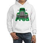 Trucker Fred Hooded Sweatshirt