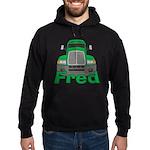 Trucker Fred Hoodie (dark)