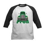 Trucker Fred Kids Baseball Jersey