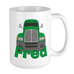 Trucker Fred Large Mug