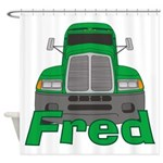 Trucker Fred Shower Curtain