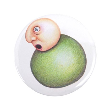 """Pea 3.5"""" Button"""