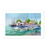 Coastal Towns Postcards (Package of 8)