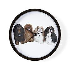 4Cavaliers Wall Clock