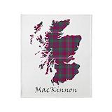 Clan mackinnon Fleece Blankets