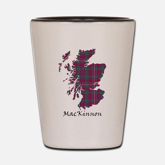 Map-MacKinnon Shot Glass