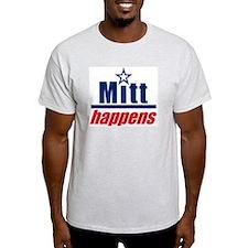 """Mitt Romney """"Mitt Happens"""" - T-Shirt"""