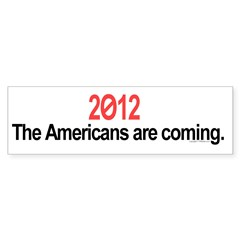 Vote 2012 bumper sticker
