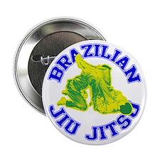 """Brazilian Jiu-jitsu 2.25"""" Button"""