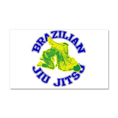 Brazilian Jiu-jitsu Car Magnet 20 x 12