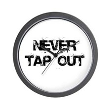 Never Tap out Wall Clock