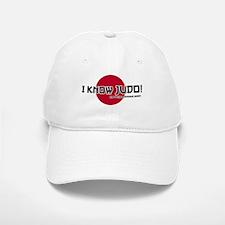 I know judo! Baseball Baseball Cap