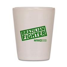 Brazilian Fighter Shot Glass