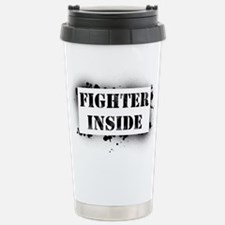 Fighter Inside Travel Mug