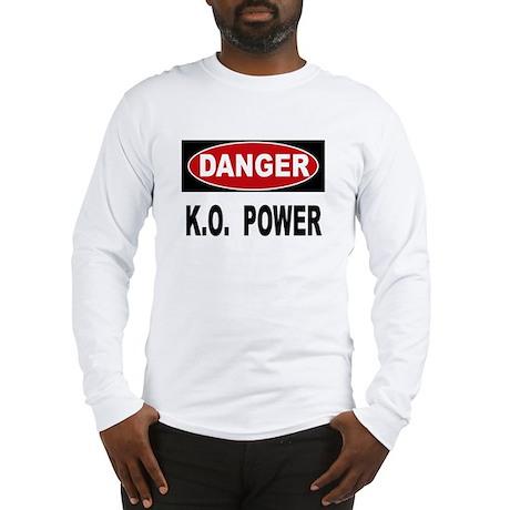 K.O. Power Long Sleeve T-Shirt