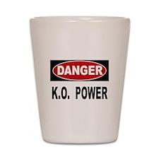 K.O. Power Shot Glass