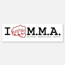 I love M.M.A. Sticker (Bumper)