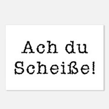 Ach du Scheisse Postcards (Package of 8)