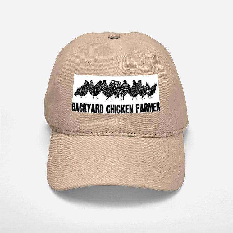 Backyard Chicken Farmer Baseball Baseball Cap