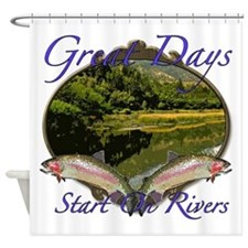 Great Days Shower Curtain