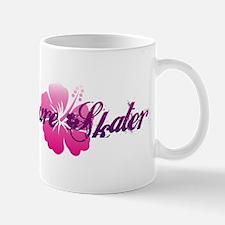Hibiscus Skater Mug