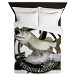 Fishing legend Queen Duvet