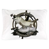 Muskie fishing musky fishing Pillow Cases