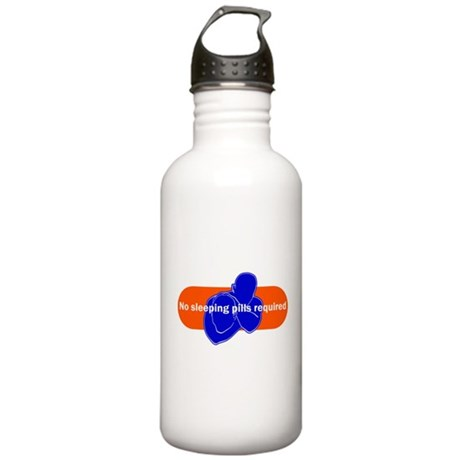 No sleeping pills required Stainless Water Bottle