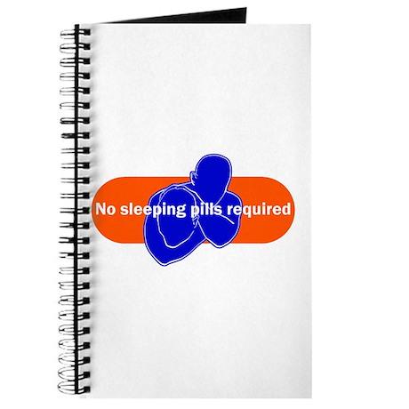 No sleeping pills required Journal