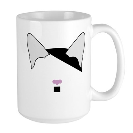 Hitler Cat Large Mug